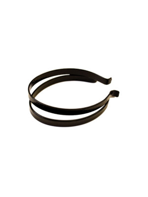 Black PVC Coated Steel Trouser Bands