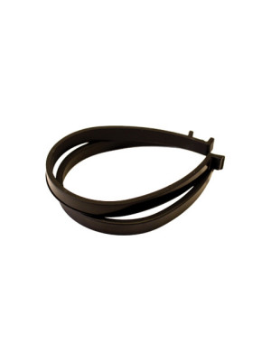 Black Nylon Trouser Bands